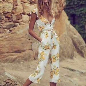 For Love & Lemons jumpsuit